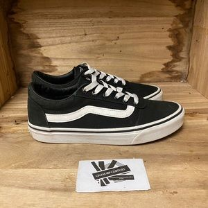 Vans off the wall low top classic black and white fashion sneakers shoes